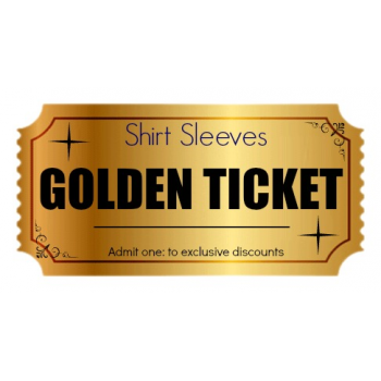 Shirt Sleeves Golden Ticket Competition!