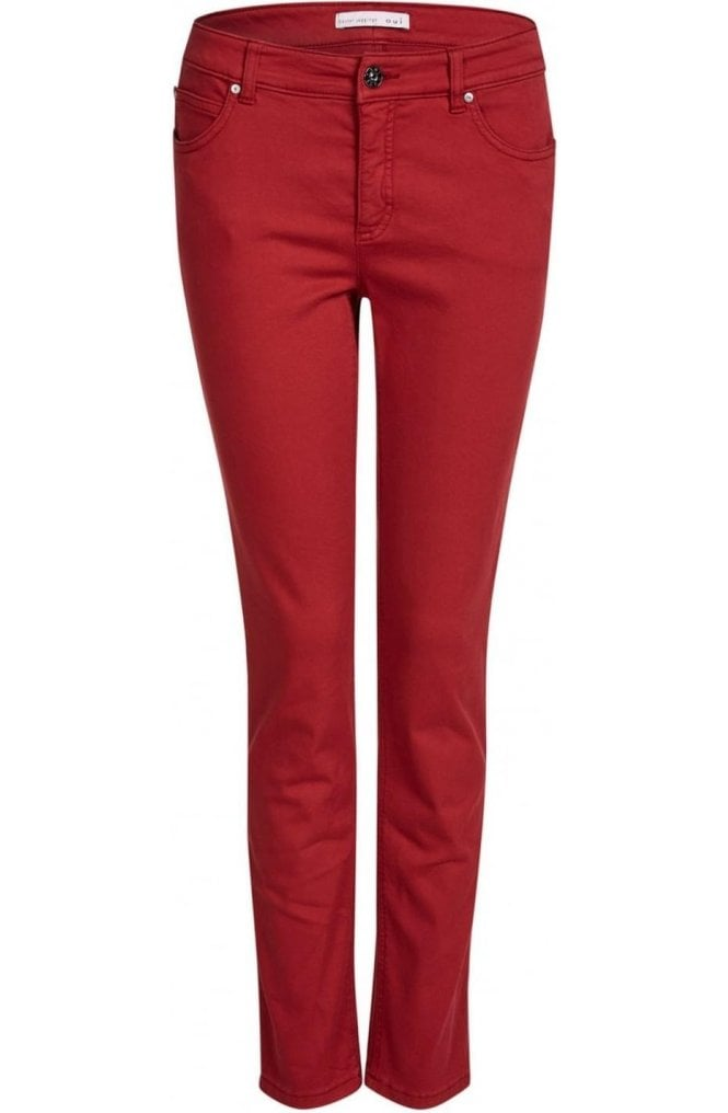 Oui Red Baxter Jeggings