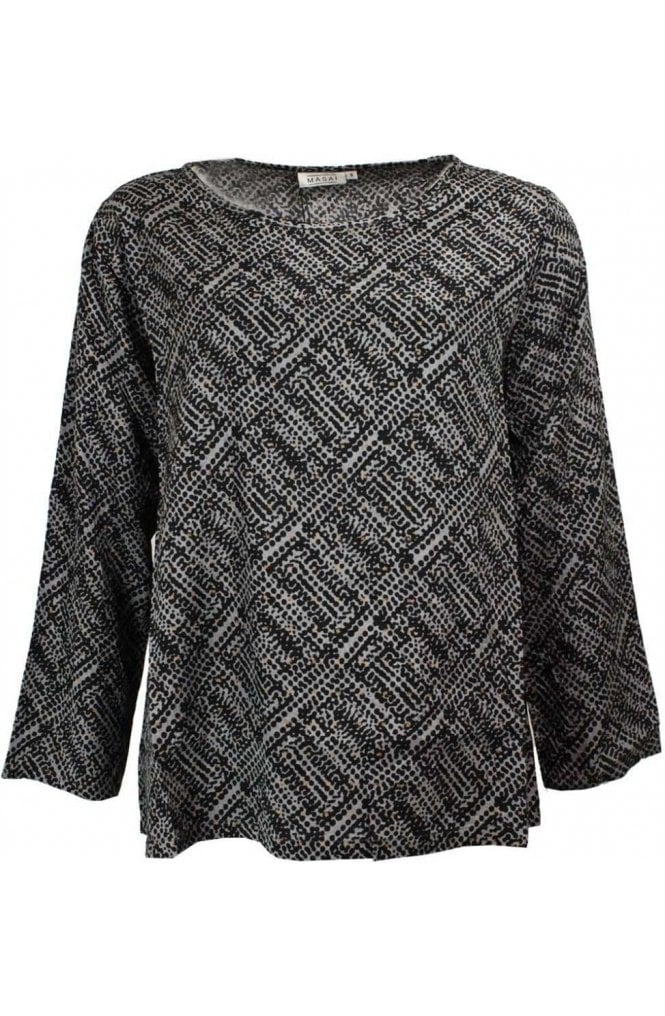 Masai Clothing Billie Patterned Top