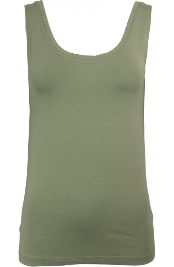 Masai Clothing Els Green Jersey Top