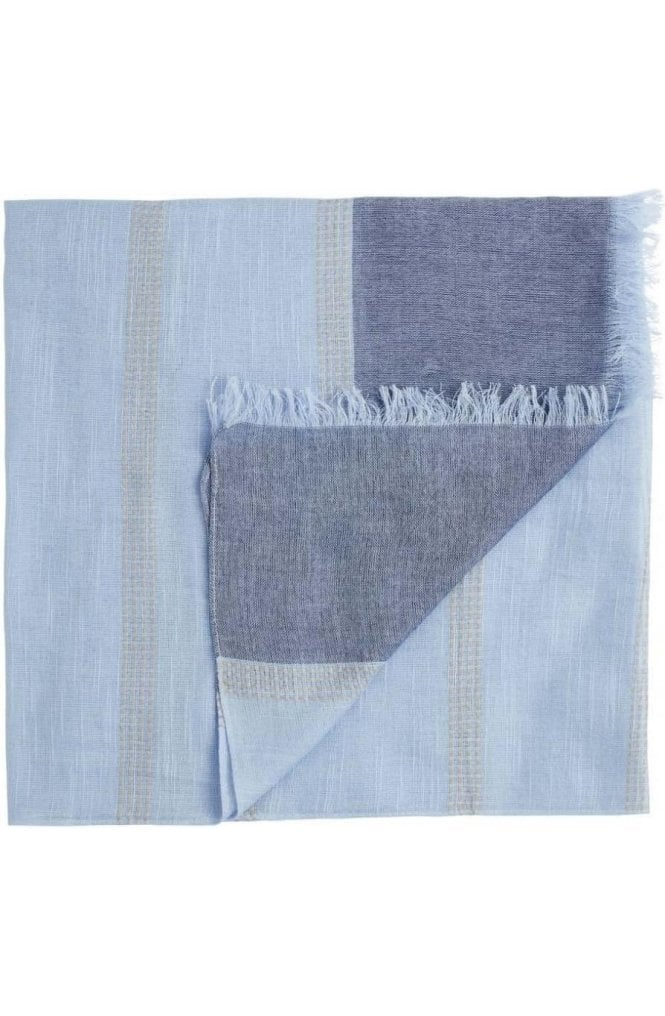 Sandwich Clothing Pale Blue Scarf