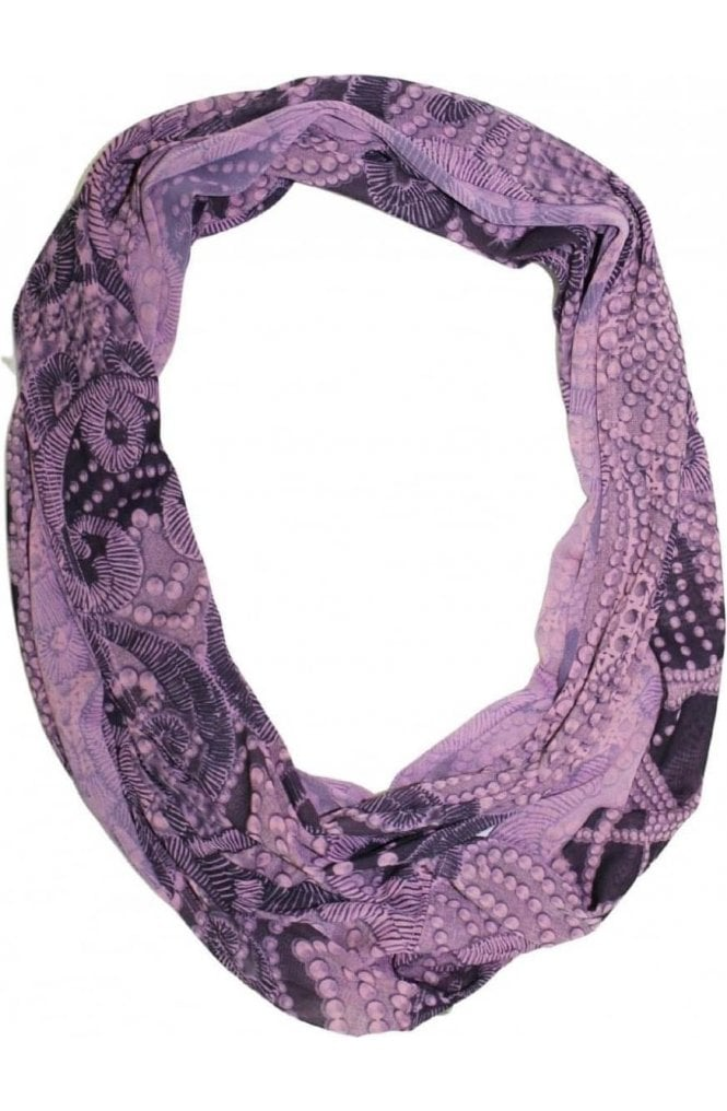 A Postcard from Brighton Chiffon Patterned Snood