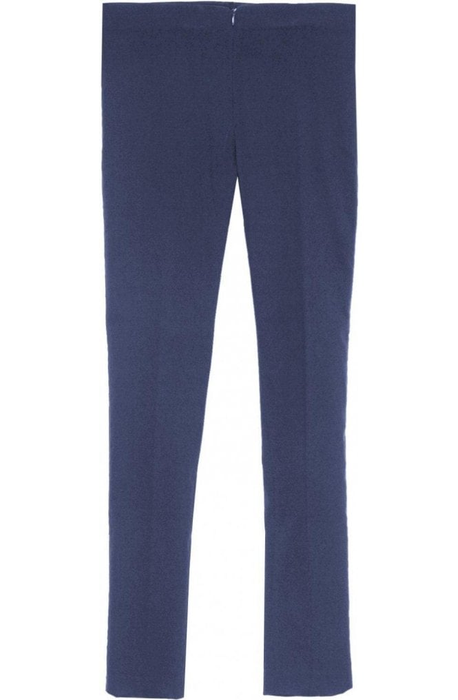 Lauren Vidal Navy Slim Fit Trousers