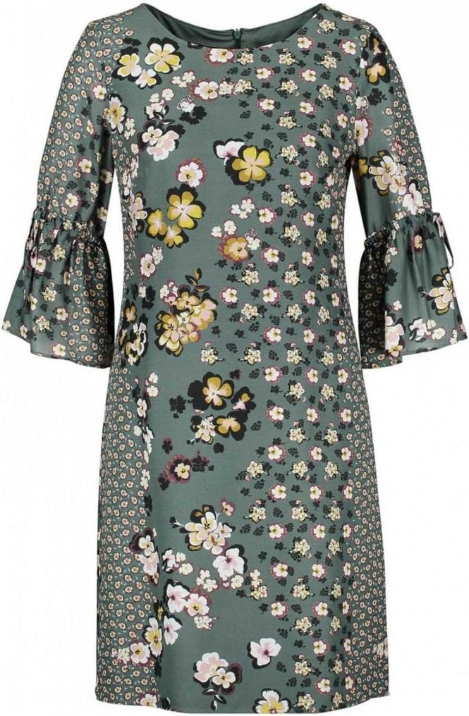 Taifun Evergreen Floral Shift Dress