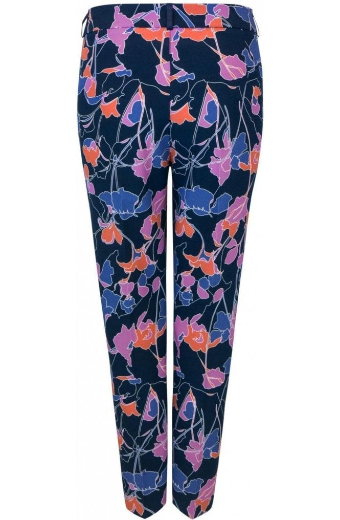 Bianca Bold Floral Print Trousers