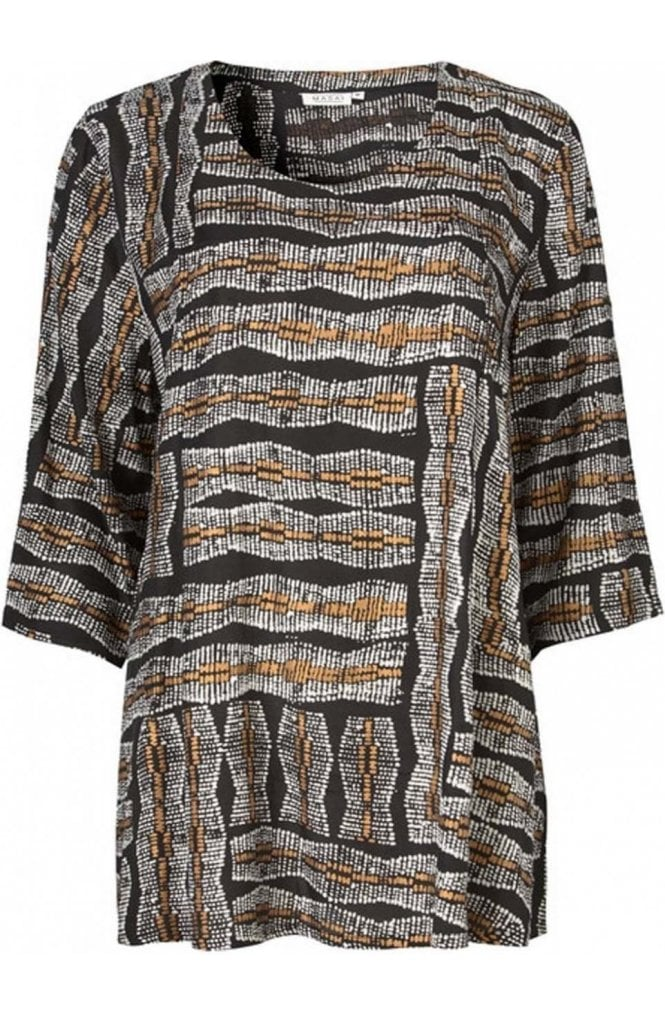 Masai Clothing Bryssa Patterned Top