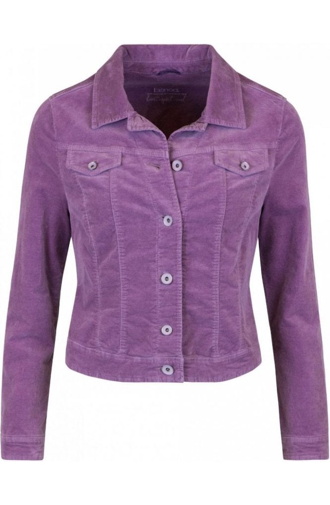 Bianca Light Berry Jacket