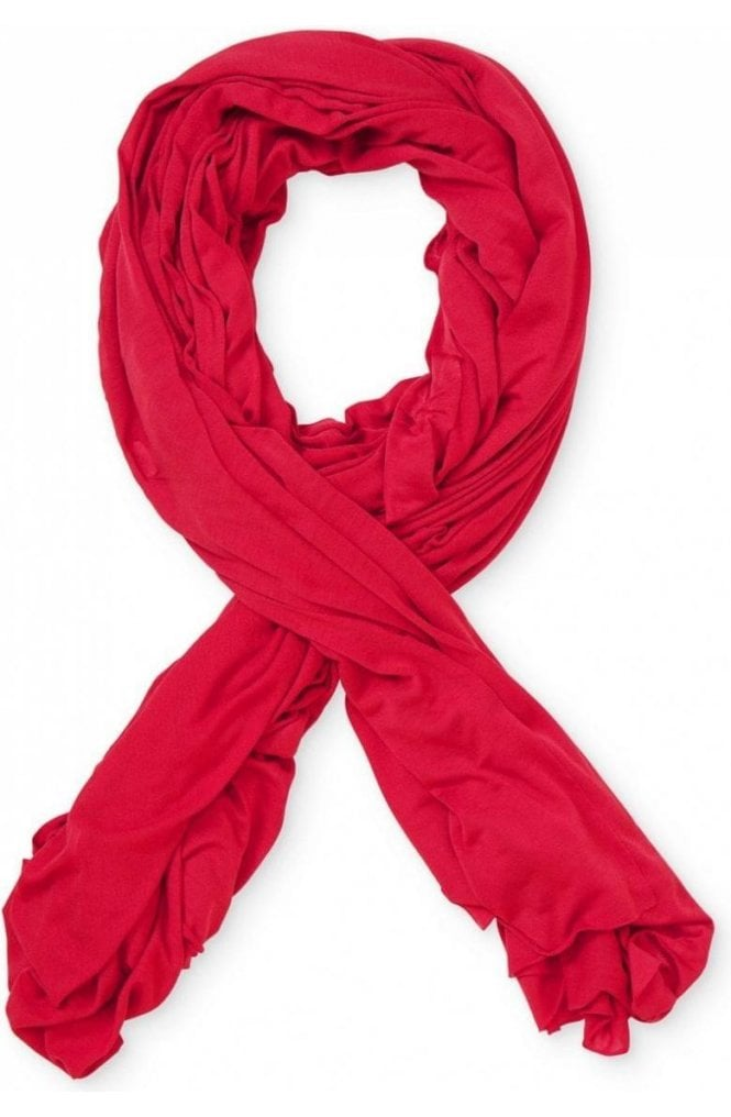 Masai Clothing Amega Red Jersey Scarf