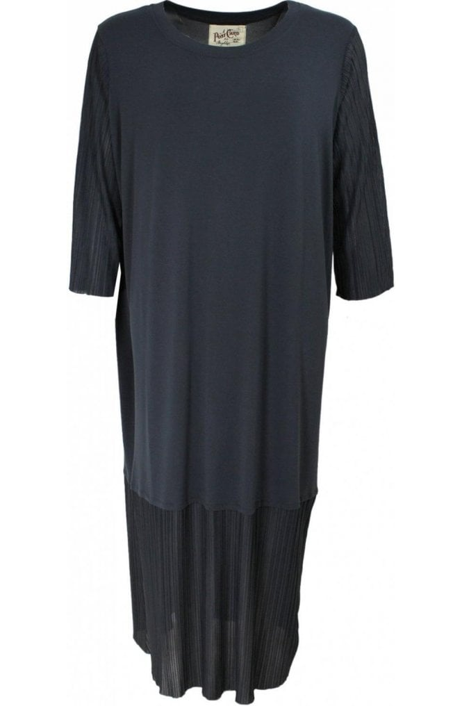 A Postcard from Brighton Tilly Charcoal Jersey Dress