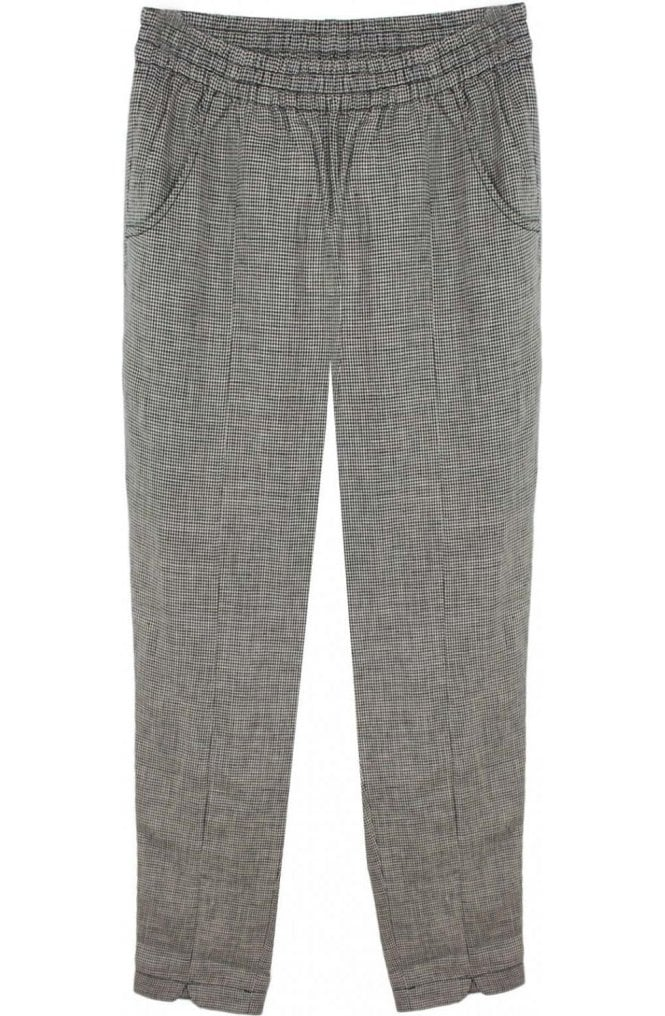Masai Clothing Palmira Check Trousers