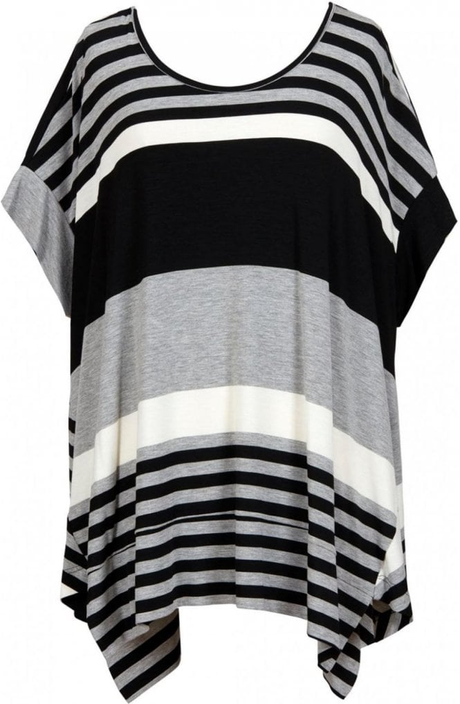 Alembika Oversized Striped Top