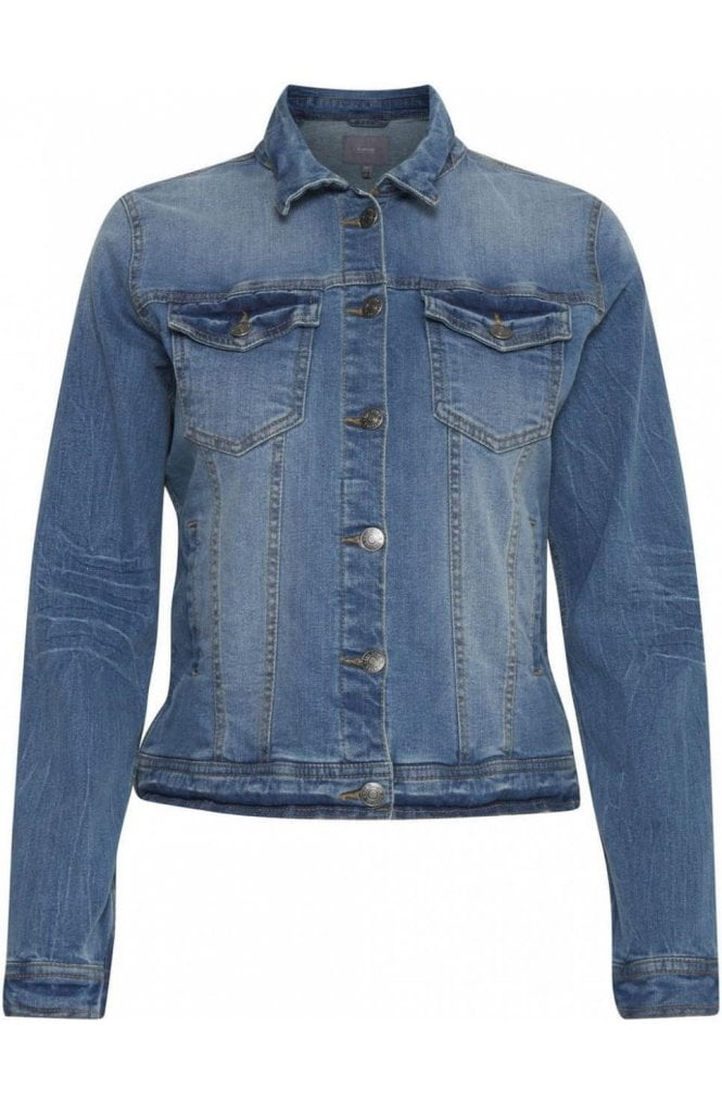 b.young Blue Denim Jacket