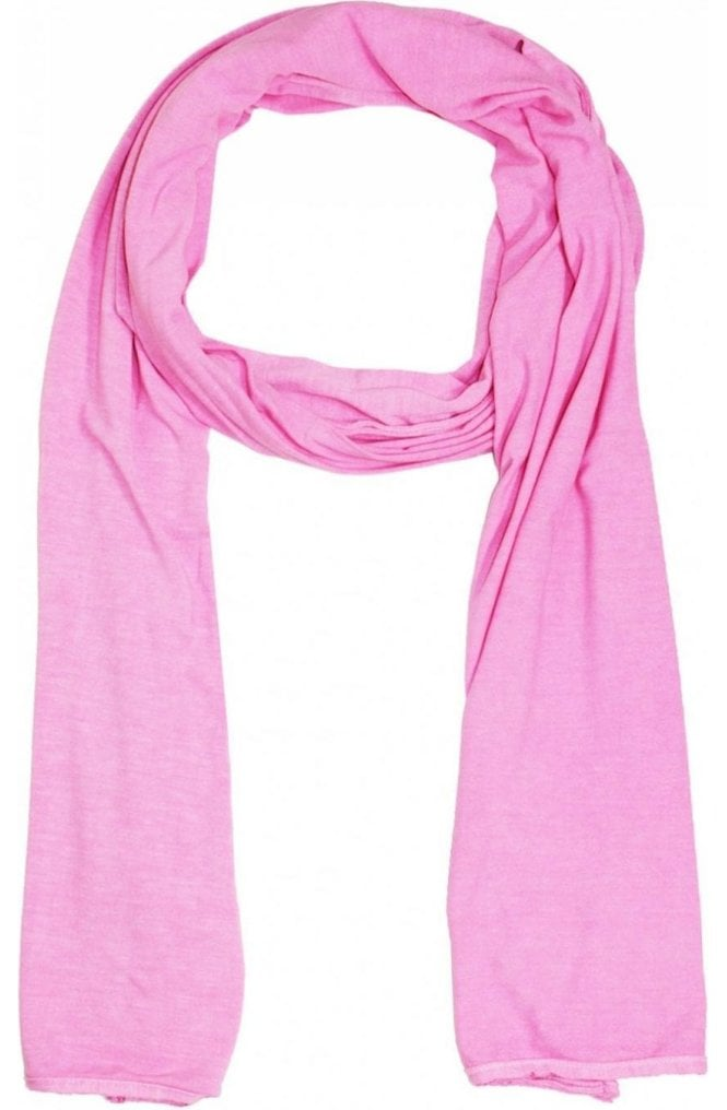 A Postcard from Brighton Plain Petal Pink Jersey Scarf