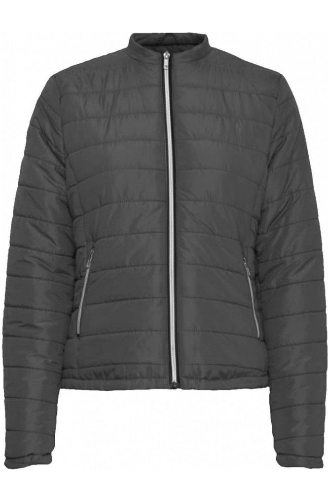 b.young Black Quilted Coat