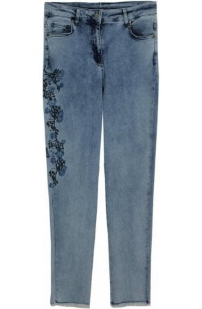 Embroidered Detailed Jeans