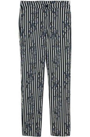 Striped Patterned Trousers