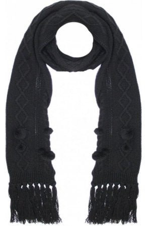 Tamoa Cable Knit Scarf