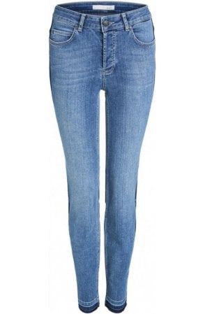 Star Detailed Denim Jeans
