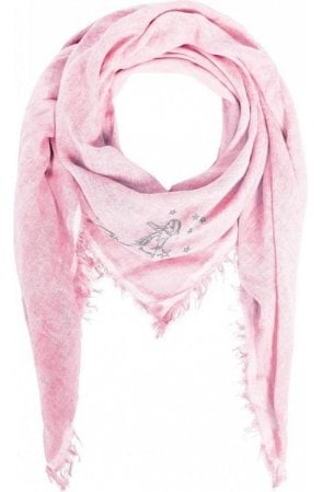 Orchid Pink Square Scarf