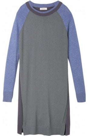 Contrasting Knit Tunic