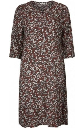 Noreen patterned dress