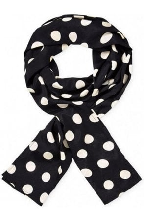 Black Along scarf