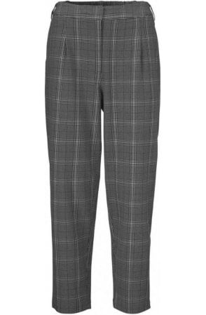 Perla grey checked culotte