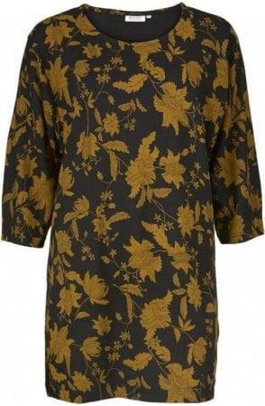 Gizze Ginger Floral Print Tunic