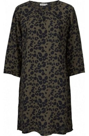 Grith Leopard Print Tunic