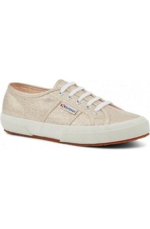 Superga Rose Platinum Trainers