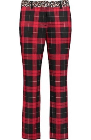Red Tartan Trousers