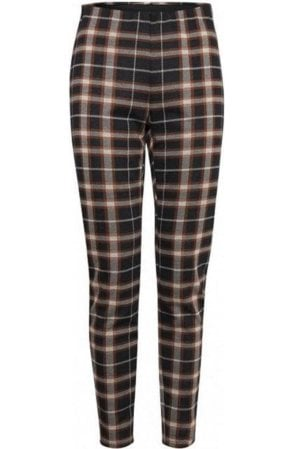 Check Print Trousers