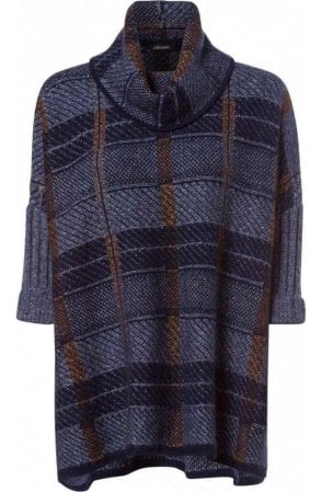 Blue Steel Check Design Jumper