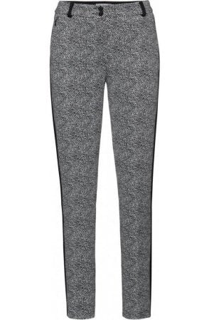 Black & White Patterned Trousers