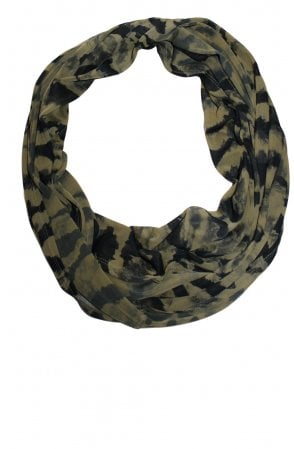Olive Patterned Snood