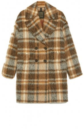 Textured Check Coat