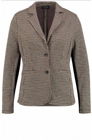 Dog Tooth Tailored Jacket