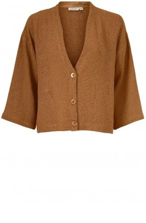 Juliana Tan Woven Knit Jacket