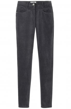 Wnter Grey Velvet Trousers