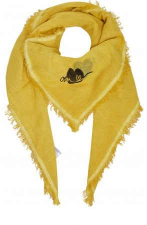 Yellow Square Scarf