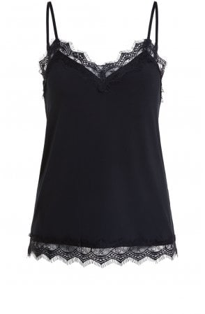 Black Lace Detailed Camisole