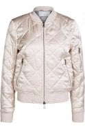 Oui Quilted Bomber Jacket