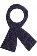 Masai Clothing masai navy scarf with pink dots