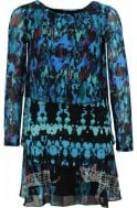 Desigual Clothing Tona Layered Patterned Dress