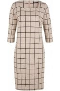 Olsen Check Print Dress