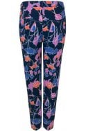 Bold Floral Print Trousers