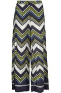 Masai Clothing Perinus Lime Wide Leg Trousers