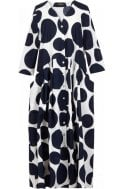 Alembika Bold Circular Print Shirt Dress