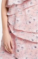 Taifun Pink Floral Tiered Dress