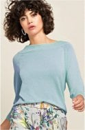 Bianca Pool Blue Knit Jumper